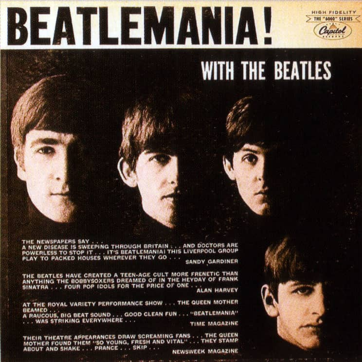 a history of the beatles and beatlemania History of the beatles on february 7, 1964, the beatles landed at jfk airport in new york this was the beginning of beatlemania in america and the legacy of the soundtrack for the boomers.