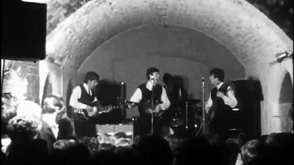 The Beatles perform Some Other Guy at the Cavern Club, Liverpool, 22 August 1962
