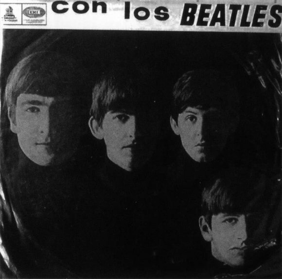 Con Los Beatles album artwork - Chile