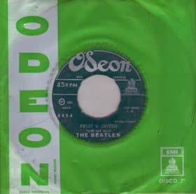 Twist And Shout single - Chile