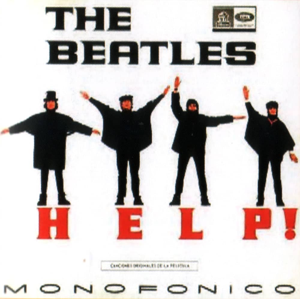 Help! album artwork – Colombia – The Beatles Bible