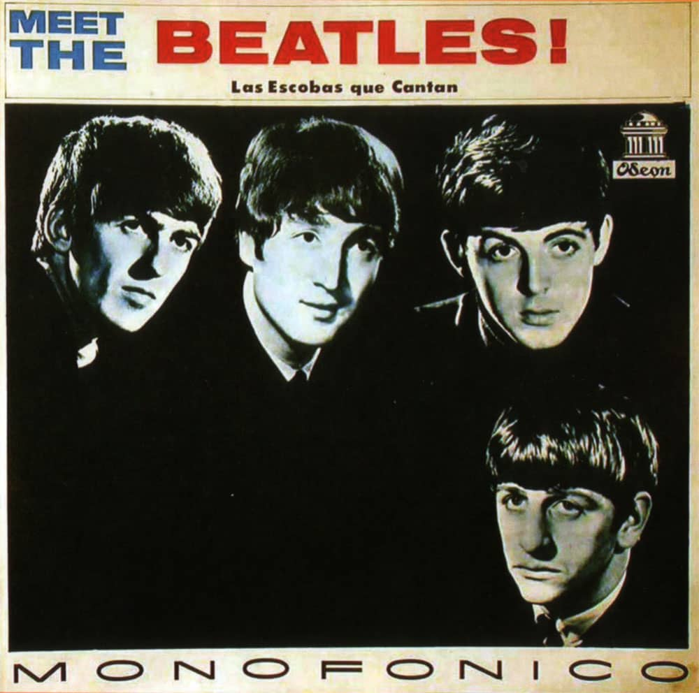 Meet The Beatles! Las Escobas Que Cantan album artwork - Colombia