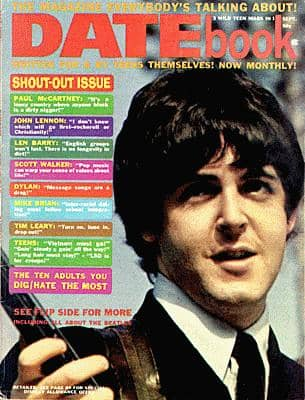 Datebook magazine, July 1966