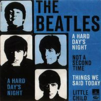 A Hard Day's Night EP artwork – Denmark