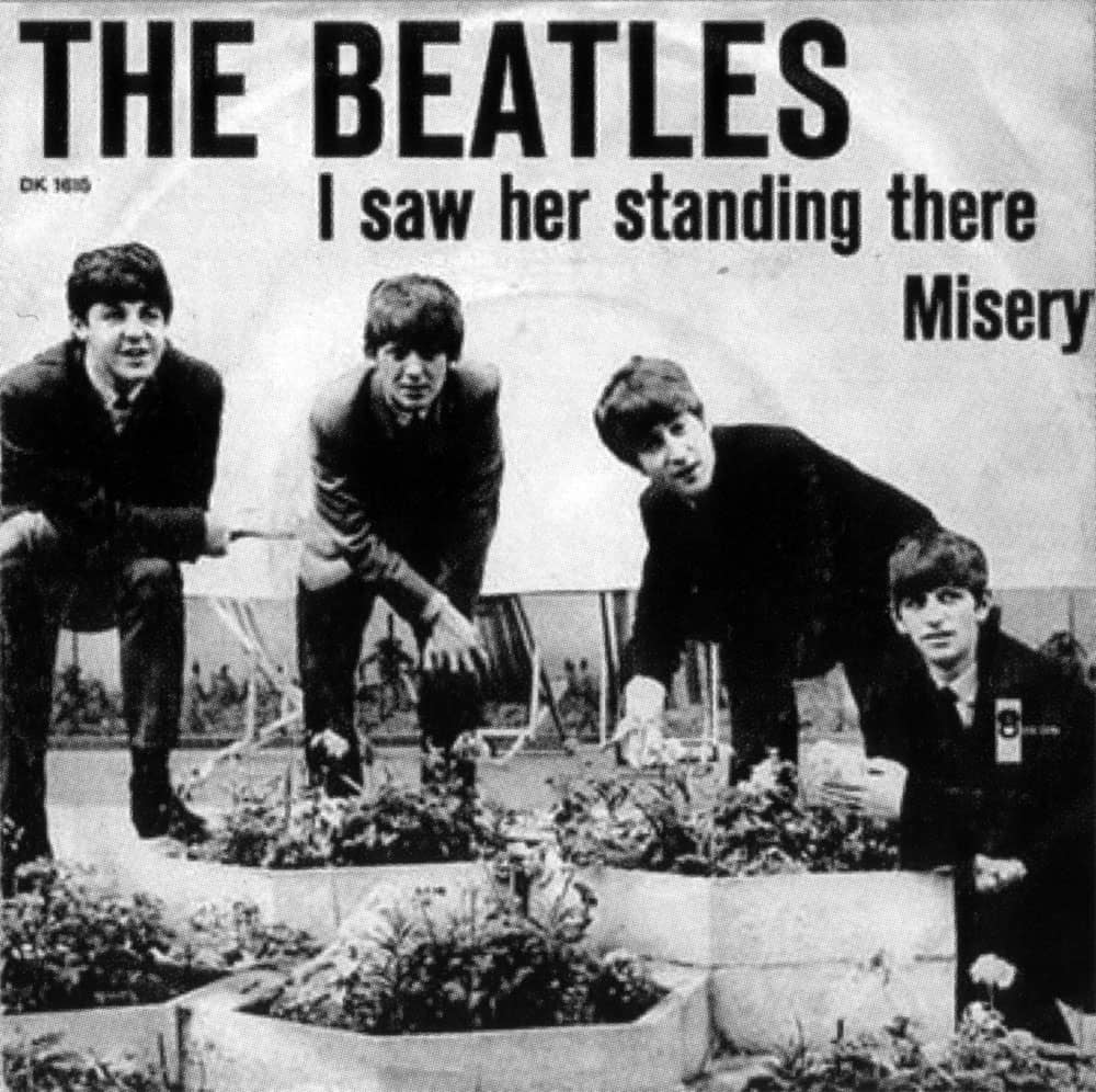 i saw her standing there � the beatles bible
