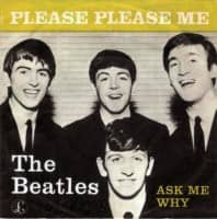Please Please Me single artwork – Denmark, Norway