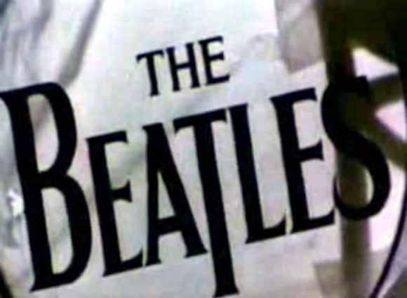 The Beatles' Drop-T logo, number seven