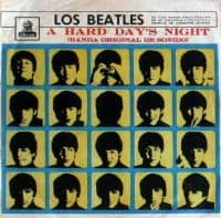 A Hard Day's Night album artwork – Ecuador