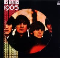 Les Beatles 1965 album artwork – France