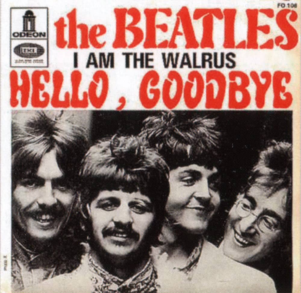 Hello, Goodbye single artwork - France