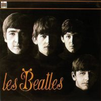 Les Beatles album artwork – France