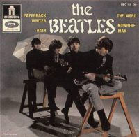 Paperback Writer EP artwork - France