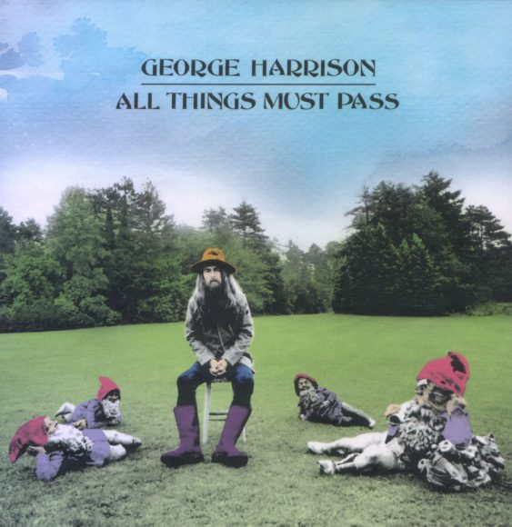 George Harrison –All Things Must Pass (2001) cover artwork