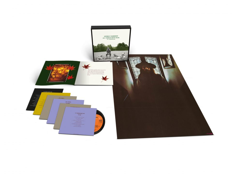 George Harrison –All Things Must Pass (50th Anniversary) 5xCD & Blu-ray