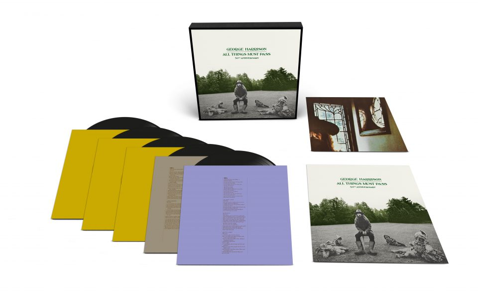George Harrison –All Things Must Pass (50th Anniversary) 5xLP