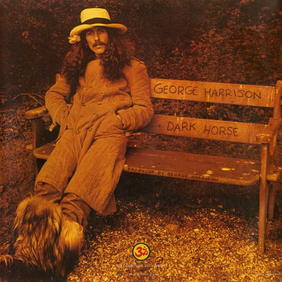 George Harrison – Dark Horse rear cover