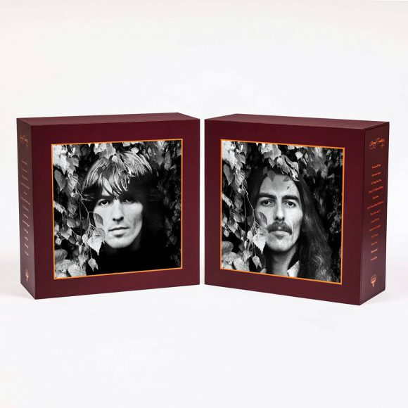 George Harrison Vinyl Collection box set – lenticular front cover images
