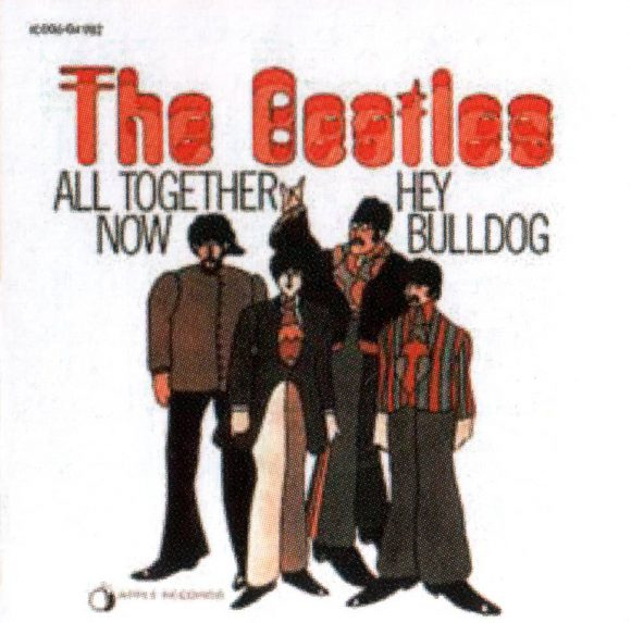 All Together Now single artwork - Germany