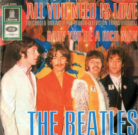 All You Need Is Love single artwork - Germany