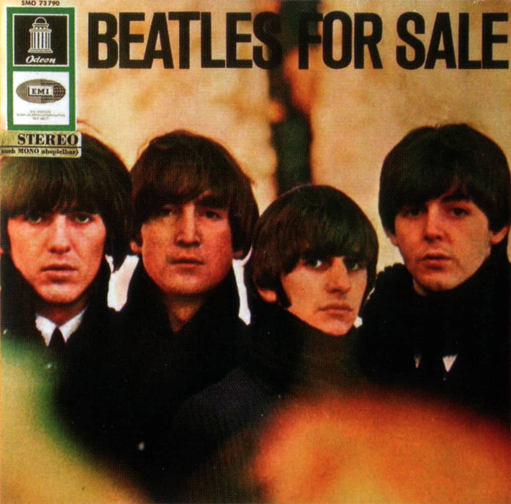 Beatles For Sale album artwork – Germany