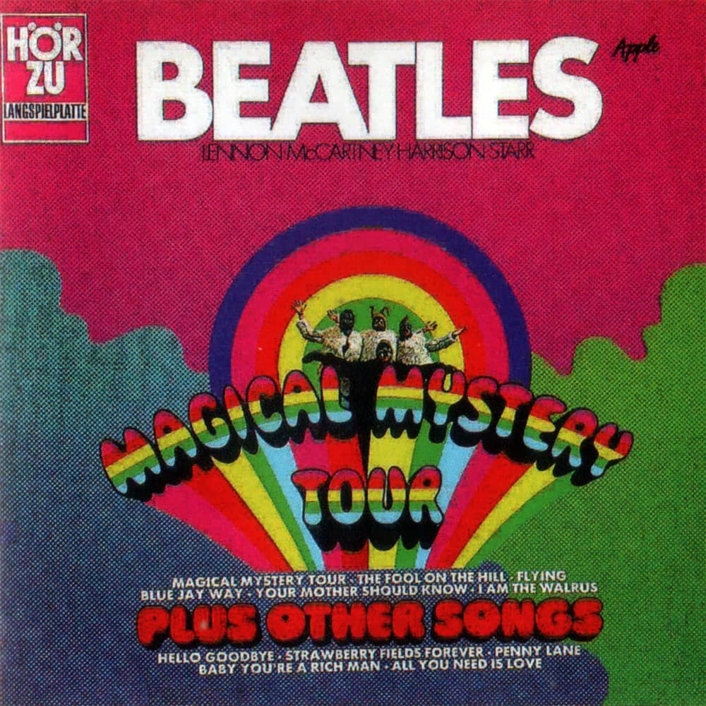 Magical Mystery Tour Album Artwork Germany The Beatles