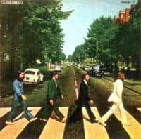 Abbey Road album artwork – Greece