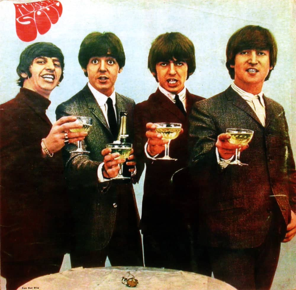 Rubber Soul album artwork - Greece