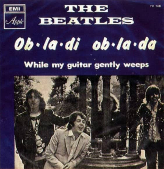 Ob-La-Di, Ob-La-Da single artwork – Israel