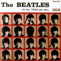 A Hard Day's Night album artwork – Italy