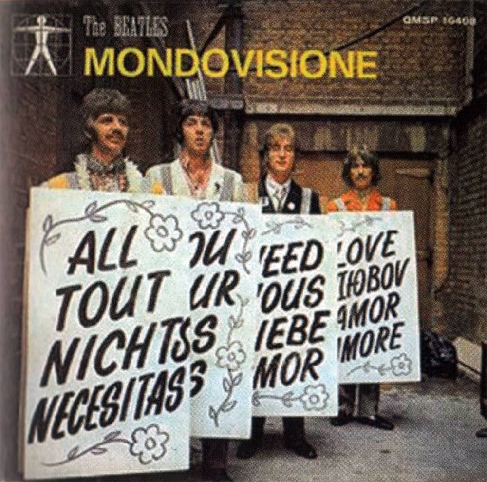 All You Need Is Love single artwork - Italy