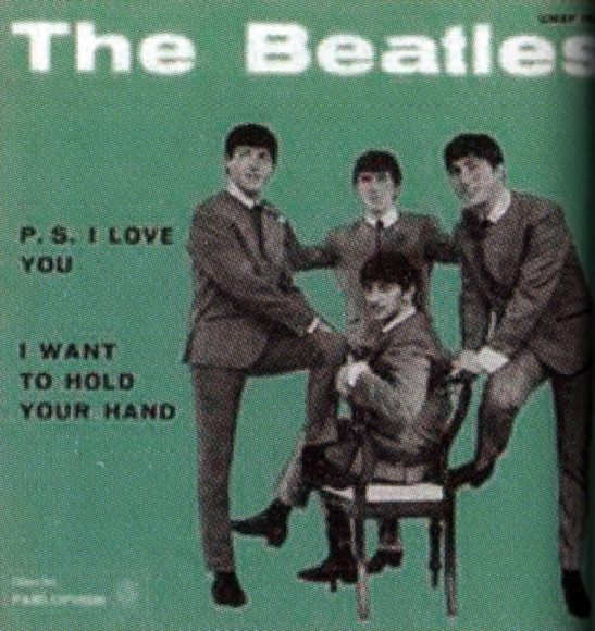 I Want To Hold Your Hand single artwork - Italy