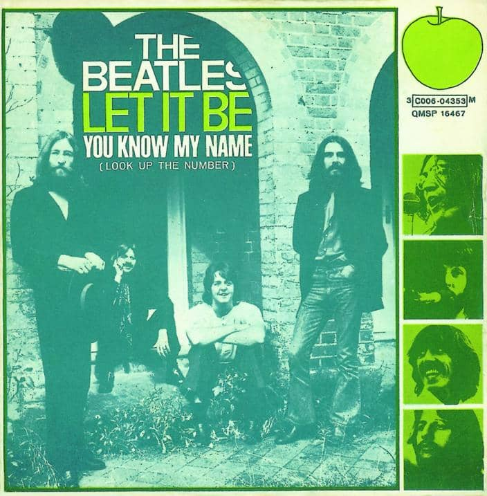 Let It Be single artwork - Italy