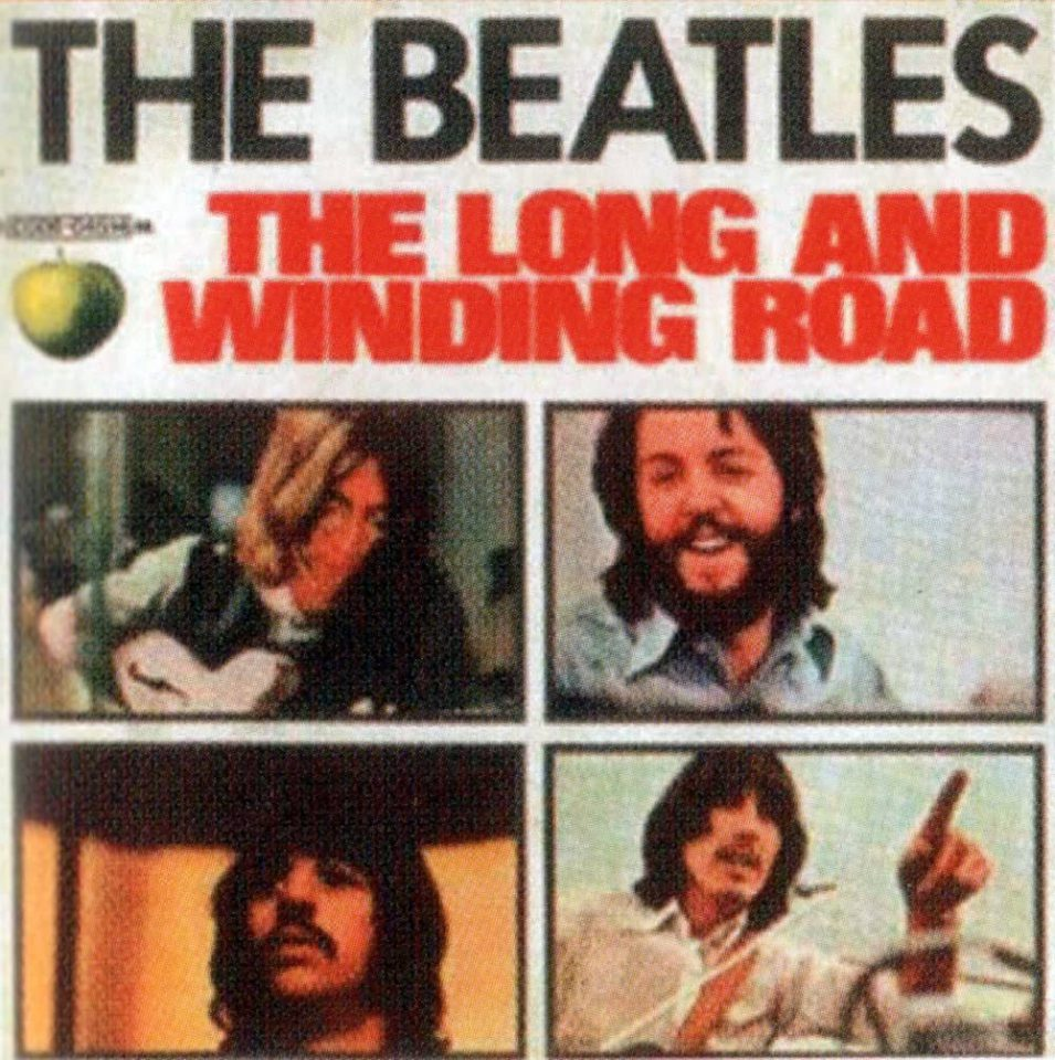 The Long And Winding Road single artwork – Italy