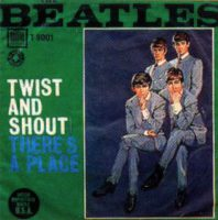 Twist And Shout single artwork - Italy