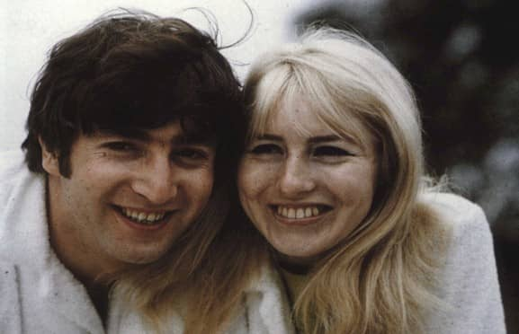 Image result for john and cynthia lennon images