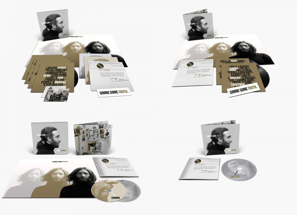 John Lennon – Gimme Some Truth (2020 album) formats