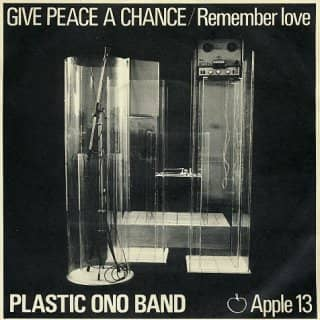 Give Peace A Chance single artwork - John Lennon/Plastic Ono Band