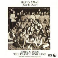 Happy Xmas (War Is Over) single artwork – John Lennon/Yoko Ono/Plastic Ono Band