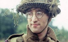 John Lennon on the set of How I Won The War, 1966