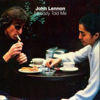Nobody Told Me single artwork – John Lennon
