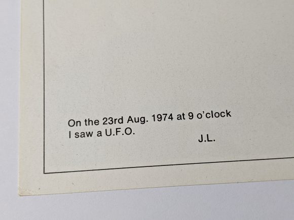 John Lennon UFO quote from Walls And Bridges