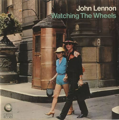 Watching The Wheels single artwork - John Lennon