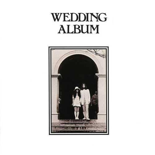 Wedding Album artwork - John Lennon and Yoko Ono