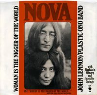 Woman Is The N----r Of The World single artwork – John Lennon/Plastic Ono Band