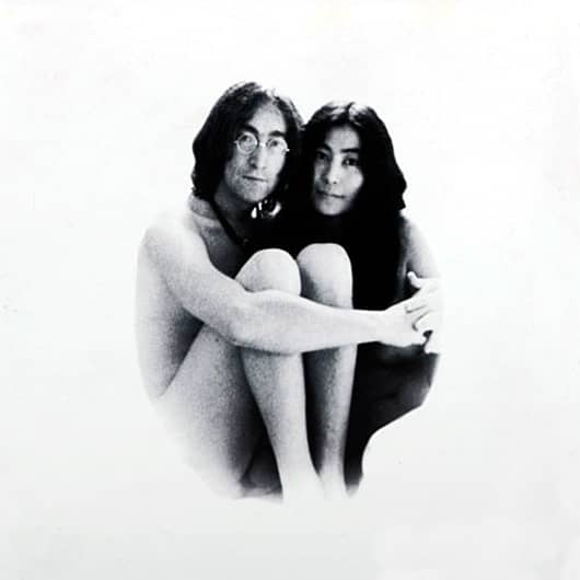 John Lennon and Yoko Ono – Image from Two Virgins photoshoot, 1968