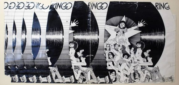 Klaus Voormann's unused illustration for the Ringo album (1973)
