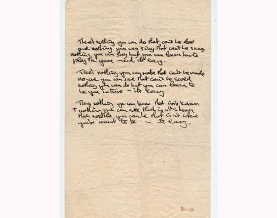 John Lennon S Lyrics To All You Need Is Love 1967 The Beatles Bible