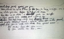 George Harrison's lyrics to the Revolver song Love You To