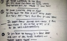 George Harrison's lyrics for Only A Northern Song