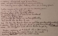 Paul McCartney's lyrics for She's Leaving Home